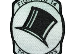 VF-14 / VFA-14 Tophatters Squadron Patch – Sew on
