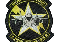 VF-33 Starfighters Squadron Patch – Sew on