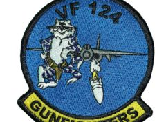 VF-124 Gunfighters Squadron Patch – Sew on
