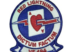 VF-194 Red Lightenings Squadron Patch – Sew on