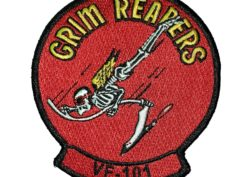VF-101 Grim Reapers Squadron Patch – Sew on