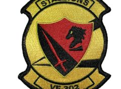 VF-302 Stallions Squadron Patch – Sew on
