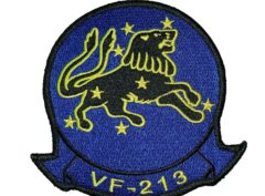 VF-213 Black Lions Squadron Patch – Sew on