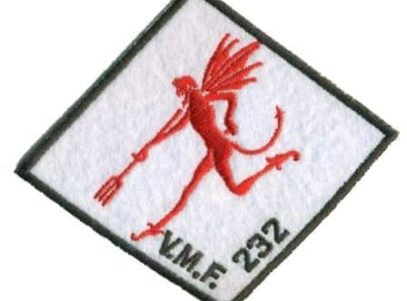 VMF-232 Red Devils WWII Patch– Sew On