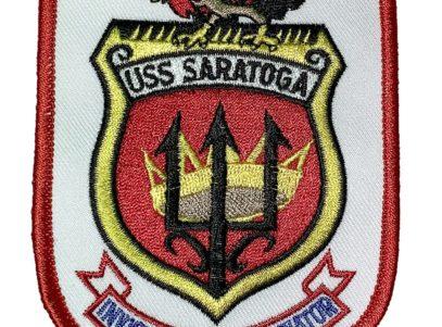 USS Saratoga CV-3 Patch – Sew On