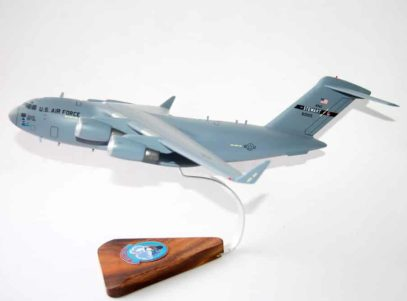 137th Airlift Squadron Hudson Haulers New York ANG C-17 Model