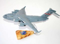 155th Airlift Squadron Tennessee ANG C-17 Model
