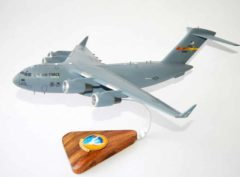 729th Airlift Squadron (March) C-17 Model