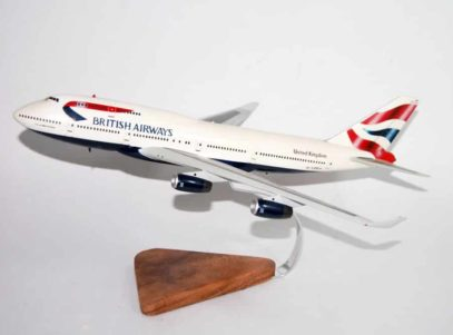 British Airways B747-400 Model
