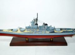 USS New Jersey (BB-62) Battleship Model
