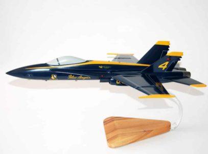 Blue Angels F-18 Model