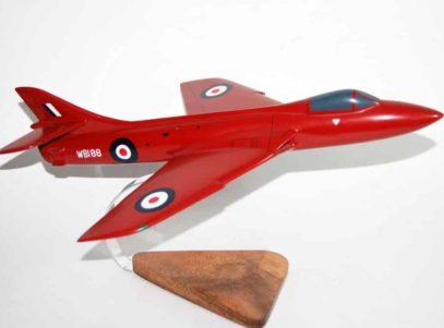 Hawker Hunter Survivor WB188 Model