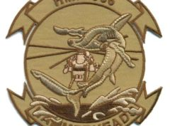 HMH-366 Hammerheads Desert Tan Patch – Sew On