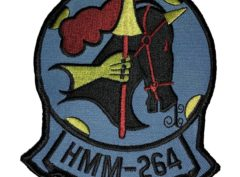 HMM-264 Black Knights Squadron Patch – Sew On