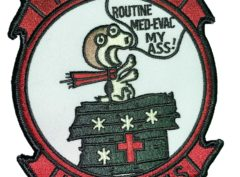 HMM-362 Snoopy Squadron Patch – Sew On