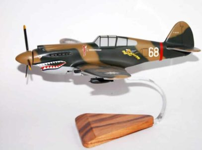 Curtiss P-40 Warhawk (P8268) Model