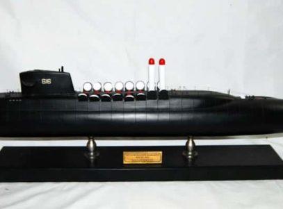 USS Lafayette SSBN-616 Model