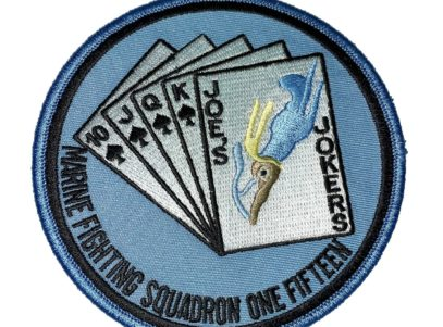 VMF-115 Squadron Patch – Sew On