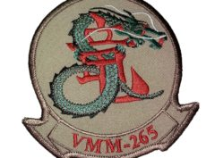 VMM-265 Dragons Squadron Patch- Sew On