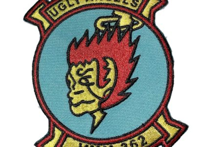 VMM-362 Ugly Angels Squadron Patch – Sew On