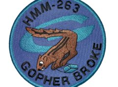 HMM-263 Gopher Broke Squadron Patch – Sew On