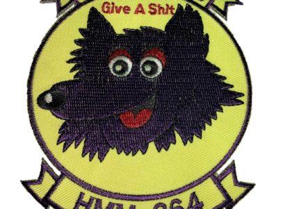 HMM-364 Purple Foxes - Sew on