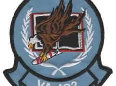 VA-122 Flying Eagles Squadron Patch – Sew on