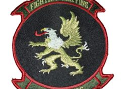 VMM 266 Fighting Griffins Squadron Patch – Sew On
