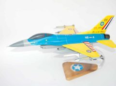 111th Fighter Squadron F-16 Fighting Falcon Model