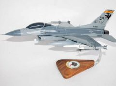 162d Fighter Squadron F-16 Fighting Falcon Model