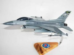 163rd Fighter Squadron F-16 Fighting Falcon Model