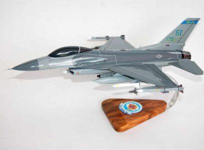 170th Fighter Squadron F-16 Fighting Falcon Model
