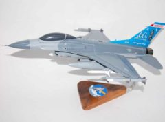 176th Fighter Squadron F-16 Fighting Falcon Model
