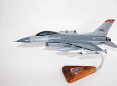 178th Fighter Squadron F-16 Fighting Falcon Model