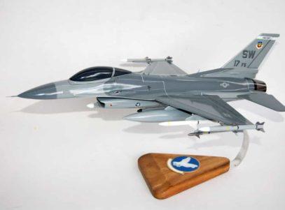 17th Fighter Squadron F-16 Fighting Falcon Model