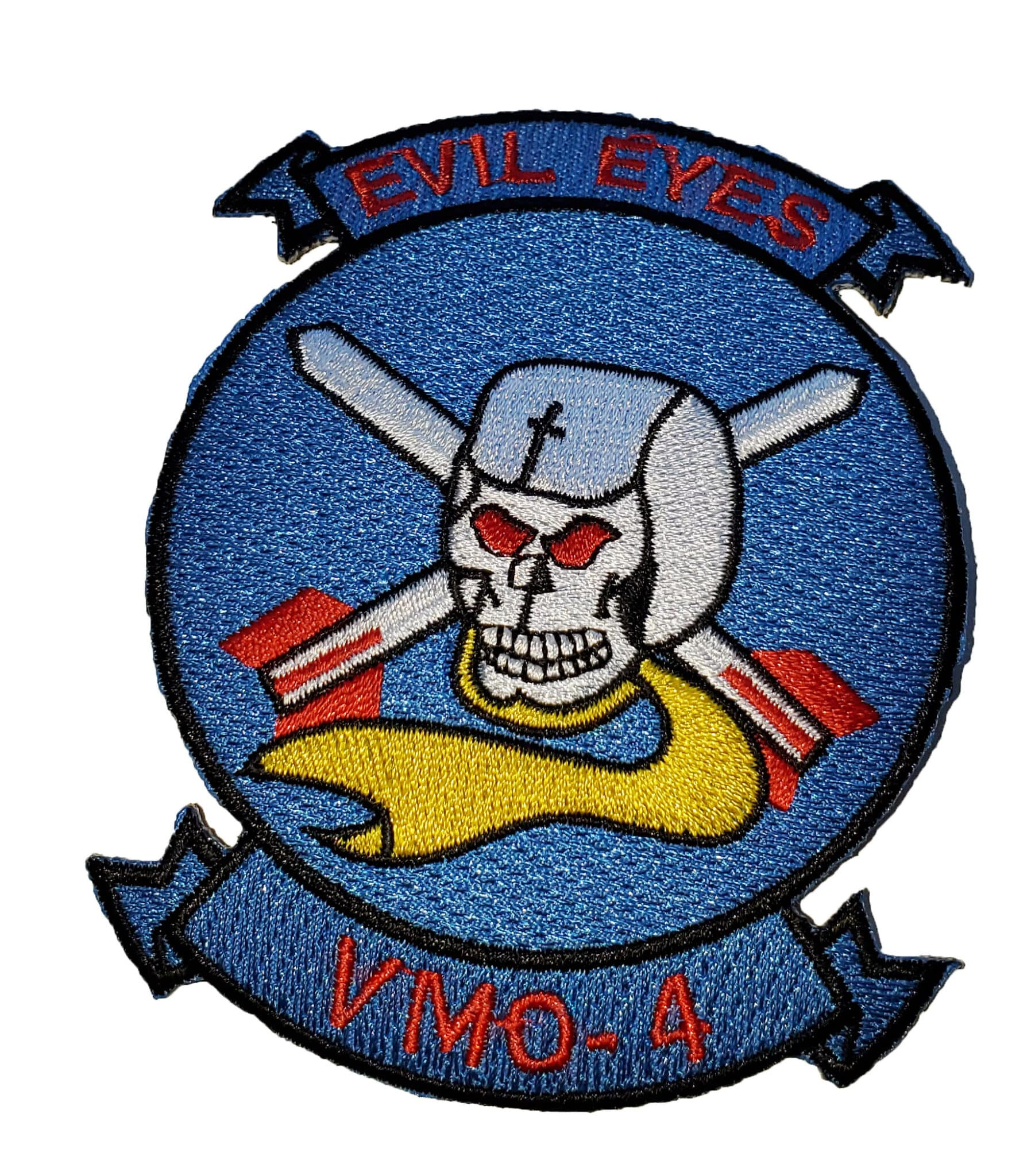 VMO-4 Evil Eyes Squadron Patch – Sew On