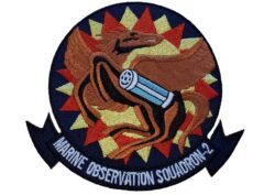 VMO-2 1970's Squadron Patch –Sew On