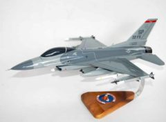 22nd Fighter Squadron F-16 Fighting Falcon Model