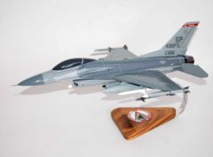 480th Fighter Squadron F-16 Fighting Falcon Model