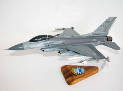 93d Fighter Squadron F-16 Fighting Falcon Model