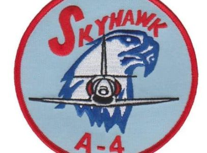 A-4 Skyhawk Squadron Patch