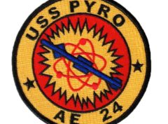 USS PYRO AE-24 Patch – Sew On
