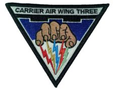 Carrier Air Wing Three Patch – Sew On