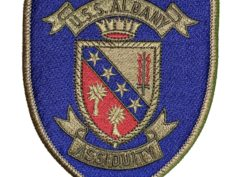U.S.S. ALBANY CG-10 Patch – Sew On