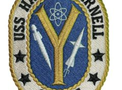 USS HARRY E. YARNELL CG-17 Patch – Sew On