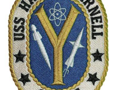 USS HARRY E. YARNELL CG-17 Patch – Sew On