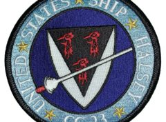 UNITED STATES SHIP HALSEY CG-23 Patch – Sew On