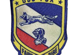 USS FOX CG-33 Patch – Sew On