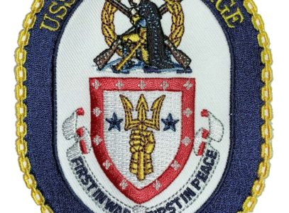 USS VALLEY FORGE CG-50 Patch – Sew On