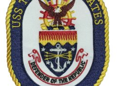 USS THOMAS S. GATES CG-51 Patch – Sew On
